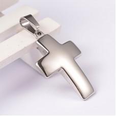 Stainless Steel Pendant - Large Cross1