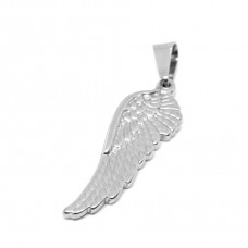 Stainless Steel Pendant - Wing