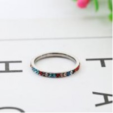 Stainless Steel MultiBling Ring #7