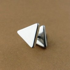Unisex Stainless Steel Stud Earring