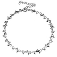 Stainless Steel Dolphin Ankle Chain