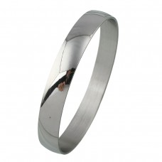 Stainless Steel Ladies 10mm Bangle