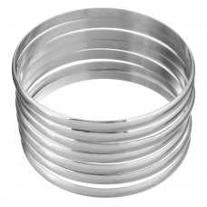Stainless Steel Ladies 5mm Bangle