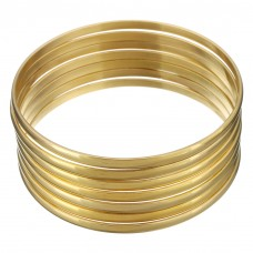 Stainless Steel Ladies GOLD 4mm Bangle