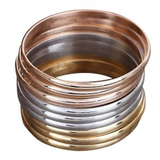 Stainless Steel Ladies GOLD 5mm Bangle