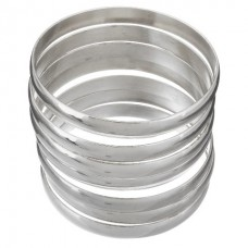Stainless Steel Ladies 8mm Bangle