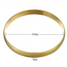 Stainless Steel GOLD Ladies 8mm Bangle