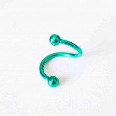 Stainless Steel Body Piercing Jewellery GREEN