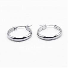 Stainless Steel Hoop Earrings 22mm