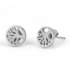 Tree of Life Stainless Steel Earrings