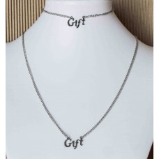 GIFT Stainless Steel Bracelet & Necklace set