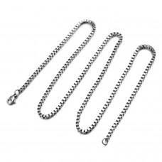 Stainless Steel Box Chain Necklace