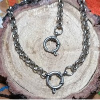 6mm Rolo Stainless Steel Set with 64cm Necklace & Bracelet