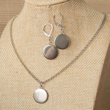 Stainless Steel Earring & Necklace set