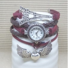 Infinity Ifel tower Winged Heart Watch