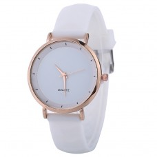 Classical Silicone Watch - White