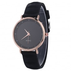 Classical Silicone Watch - Black