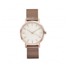 Classical Stainless Steel Watch - Rose Gold PLATED