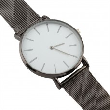 Classical Stainless Steel Watch - Black PLATED