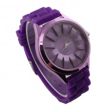 Funky Silicone Watch - Purple
