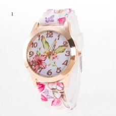 Summer Bouquet Silicone Watch