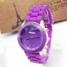 ETHAN Silicone, with zinc alloy dial Watch