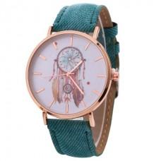 Faux Leather DreamCatcher Watch