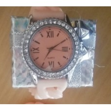 Silicone Bling Stretch Watch